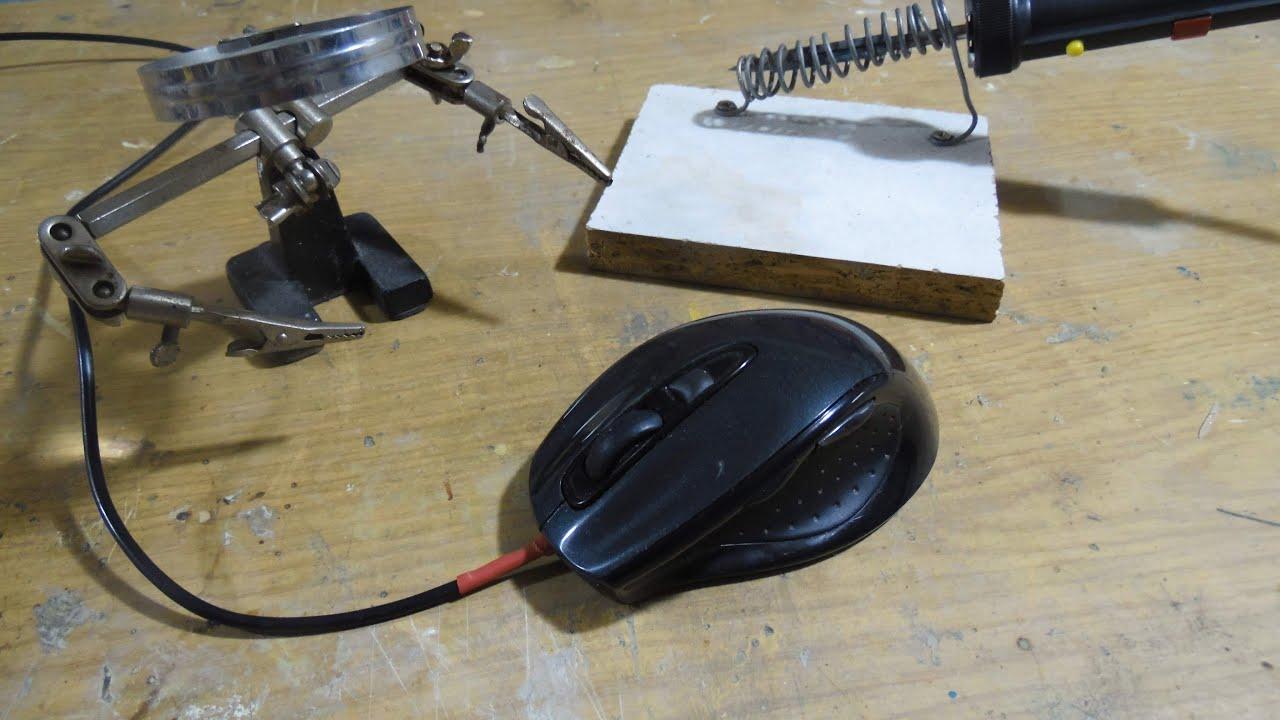 reparation comment r parer une souris pc youtube. Black Bedroom Furniture Sets. Home Design Ideas