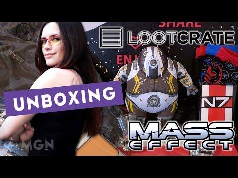 Loot Crate especial de Mass Effect - Unboxing en español