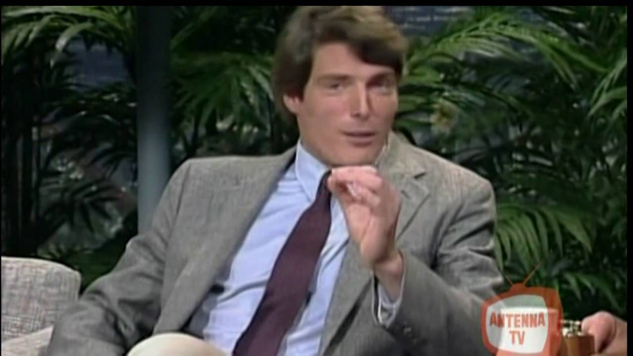 christopher reeve johnny carson