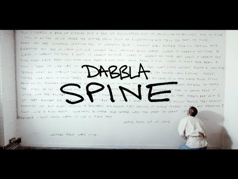 Dabbla - Spine (Prod. GhostTown) (OFFICIAL VIDEO)