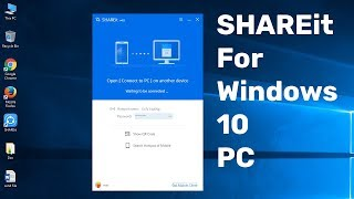 Gambar cover How To Download and Install SHAREit on Windows 10 PC Latest Version || SHAREit  For  PC