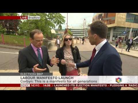 Student slaps BBC reporter Ben Brown after breast brush - 16.5.2017