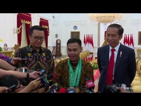 Presiden Jokowi Bertemu dan Sampaikan Apresiasi bagi Eko Yuli Irawan Mp3