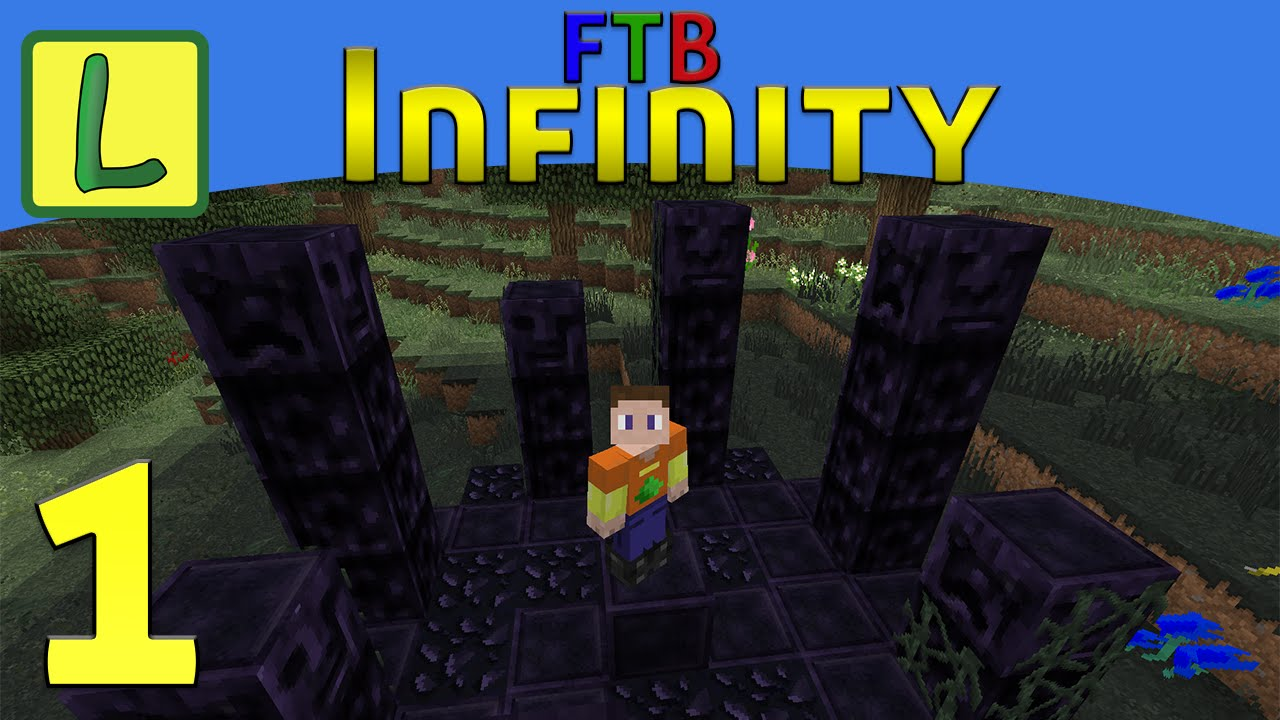 ftb infinity how to get started