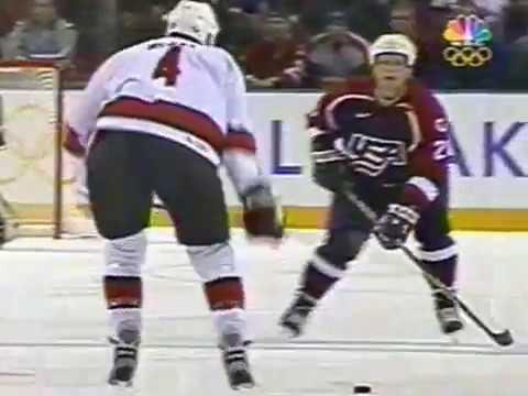 Winter Olympics 2002 - USA VS CANADA - SALT LAKE CITY FINALS GOLD MEDAL GAME PART 1
