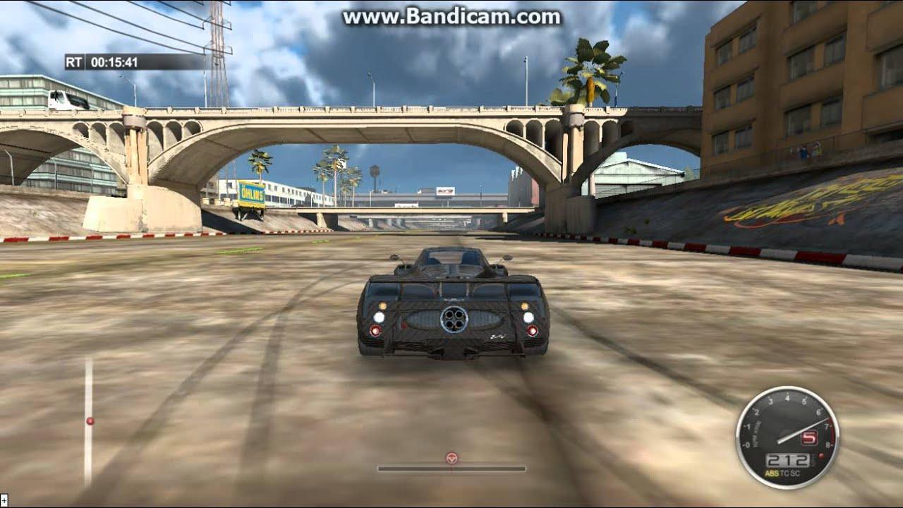 auto club revolution - pagani zonda f top speed - youtube
