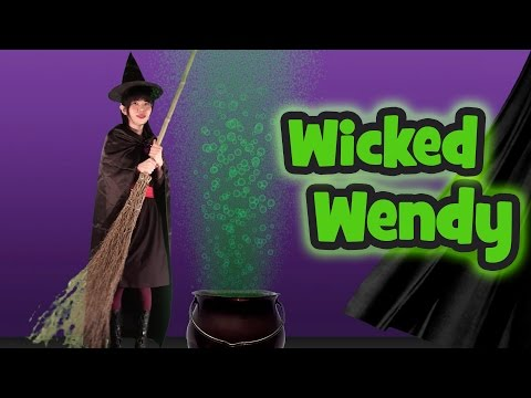 Wicked Wendy Witch | Halloween Songs for Kids
