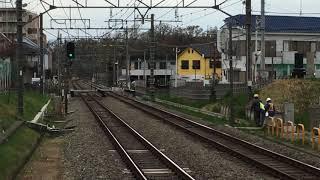 東京メトロ10000系10113F副都心線直通F快急元町・中華街行き秋津駅通過