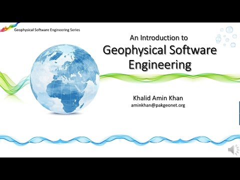 Introduction to Geophysical Software Engineering