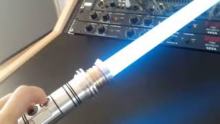 Lightsabers collection 1: Saberforge : Shaak Ti clan saber ROTS