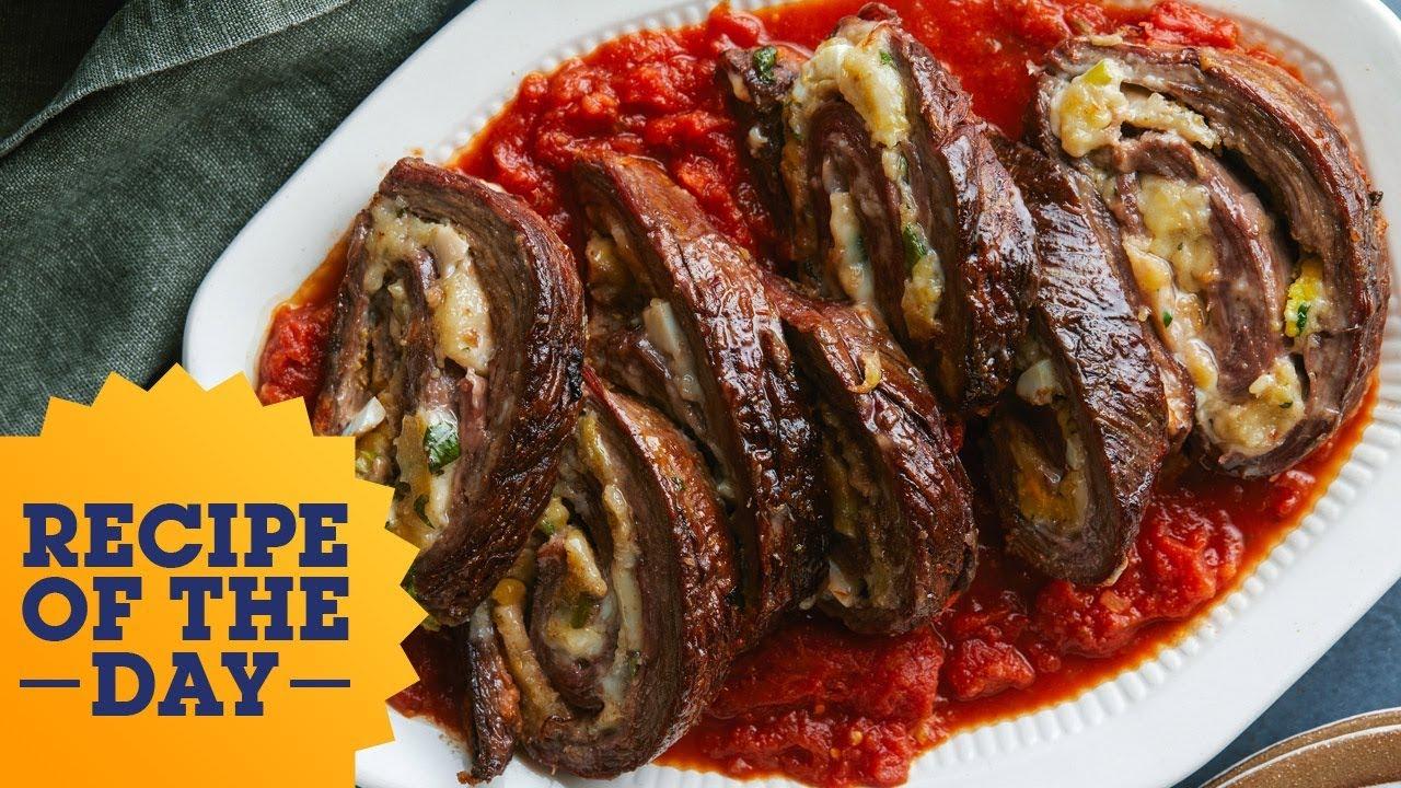 Recipe of the day beef braciola food network youtube recipe of the day beef braciola food network forumfinder Gallery