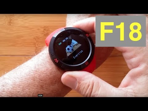 no.1-f18-gps-ip68-waterproof-rugged-sports-smartwatch:-unboxing-and-1st-look