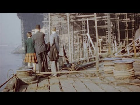 Visit to a Shipbuilding Yard (1951) | BFI National Archive