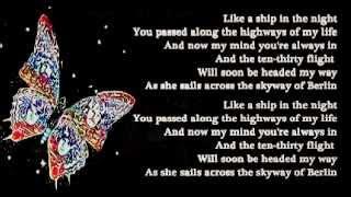 Barclay James Harvest Berlin lyrics 1978.mp3