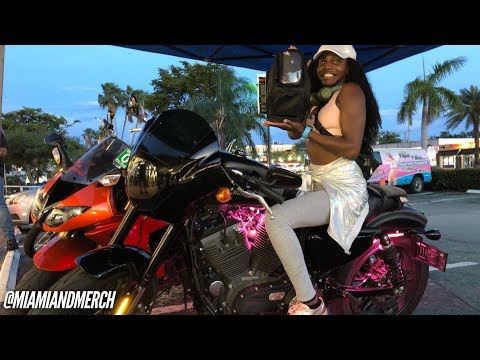 I WON Motorcycle bike night at Cycle Gear North Miami beach on 163rd
