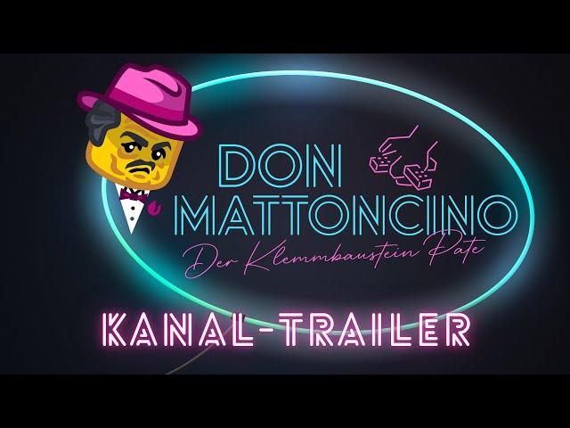 Don Mattoncino - Der Klemmbaustein Pate | Kanal-Trailer