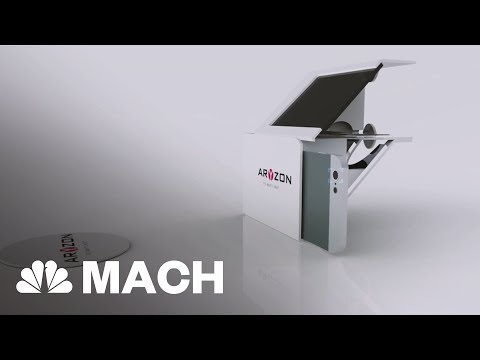A $30 Augmented Reality Headset That's Made From Cardboard | Mach | NBC News
