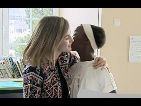 La Reina Letizia visita el Hospital del Niño Jesús en Madrid