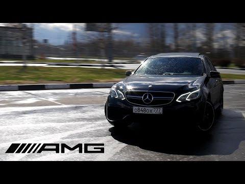Тест-драйв Mercedes-benz E63 AMG. 720НМ на ПОЛНОМ ПРИВОДЕ!