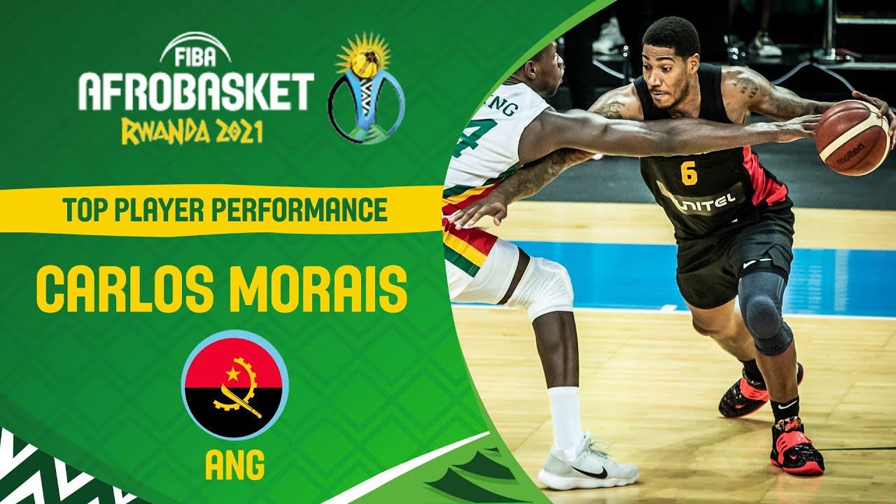 BEST 3️⃣-POINTER: Carlos Morais |Top Plays | FIBA AfroBasket 2021