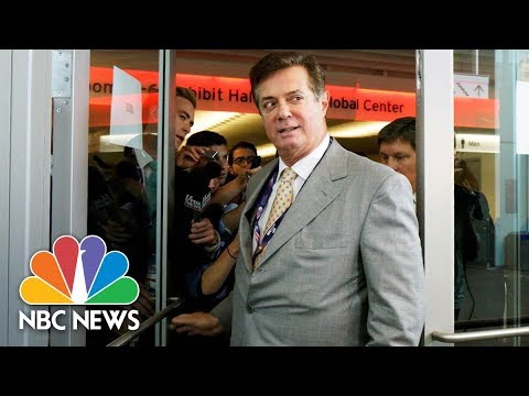 Former Donald Trump Campaign Manager Paul Manafort Told To Surrender In Russia Probe | NBC News
