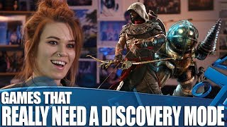 Games That Really Need A Discovery Mode