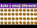 qual é o emoji diferente   encontre o emoji diferente em 30 segundos! encontra o diferente 24