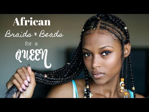 "African Braids & Beads\For A Queen (Feat...RastAfri Braid ""MY EXPERT 24"")"