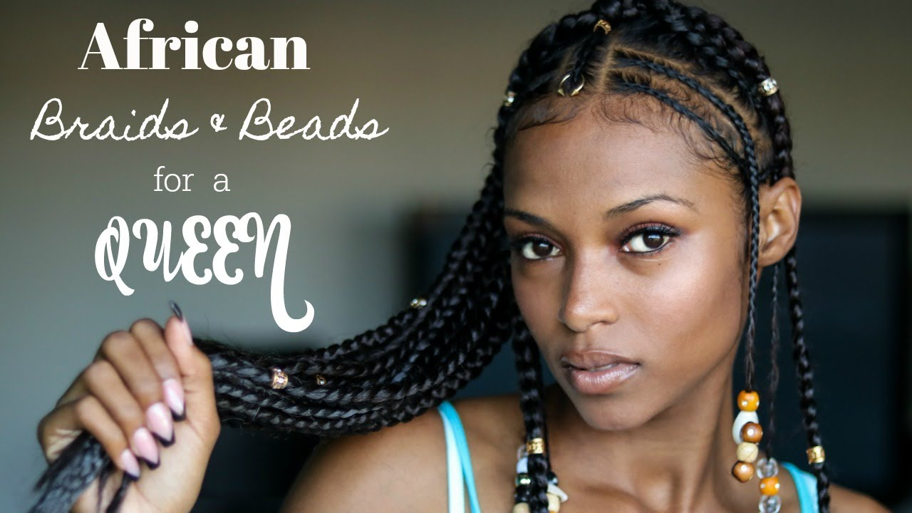 African Braids Beads For A Queen Feat Rastafri Braid My Expert 24