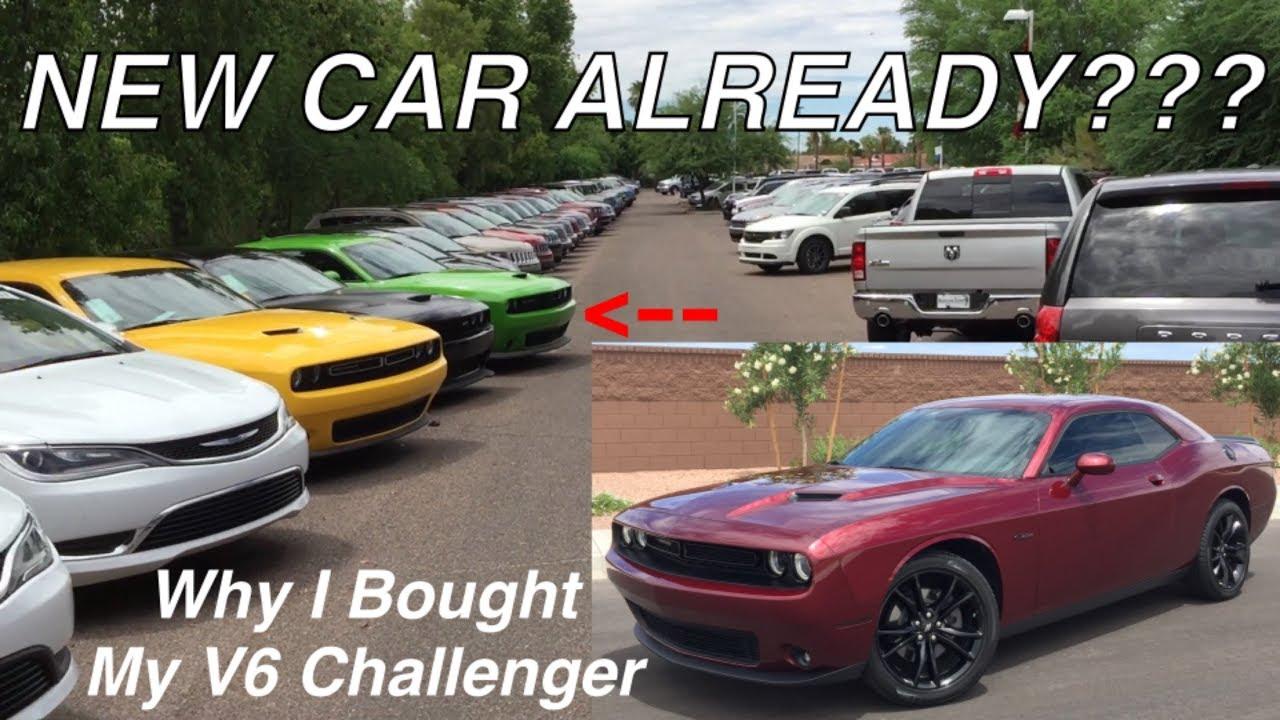 Why I Bought A 2017 V6 Challenger Over V8