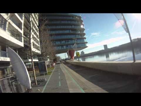 Rollerski Skiing Bratislava 6.1.2014 - Ski Pole Problems