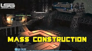 Space Engineers - Mass Construction Hanger  SE3 - Part 5