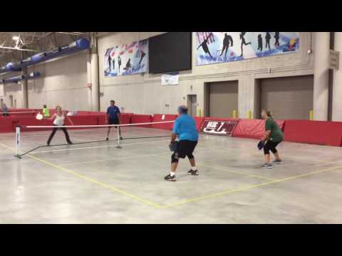 2016 Badger State Games Pickleball Championships - Mixed Doubles 4.0 - Round Robin Play