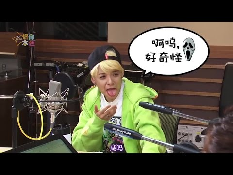 150314 f(x) Amber - MBC C-Radio Idol True Colors E48 (中字)