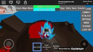 Roblox: Dragon Ball Rage Gogeta Vs Broly ft. Bear1426