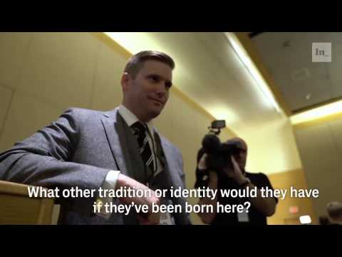 "The Intercept questions Richard Spencer, ""alt-right"" leader"