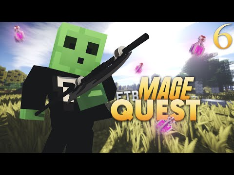FTB Mage Quest - Entering The Nether (Episode 6)