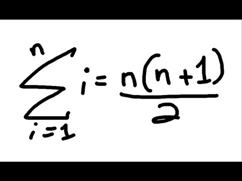 "Sum of ""n"" Consecutive Integers - Simple Proof"