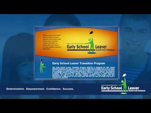 Early School Leaver Transition Program at Illinois State University