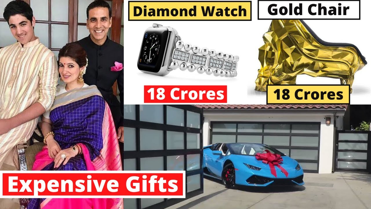 Twinkle Khanna's 10 Most Expensive Birthday Gifts From Bollywood Stars | #happybirthday2020