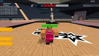HALF COURT SHOT!!!!! [Roblox Hoops - Demo]