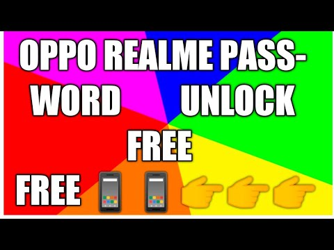 realme u1 password unlock