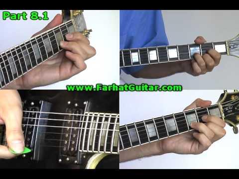 Welcometo the Jungle- Guns and Roses Guitar Cover 12 Full Song- www.FarhatGuitar
