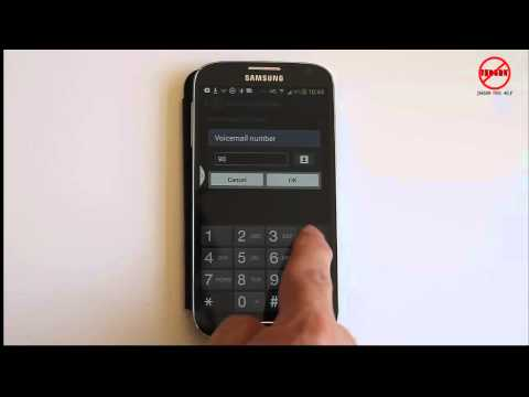 Setting Up to Dial Voicemail on Samsung Galaxy S4