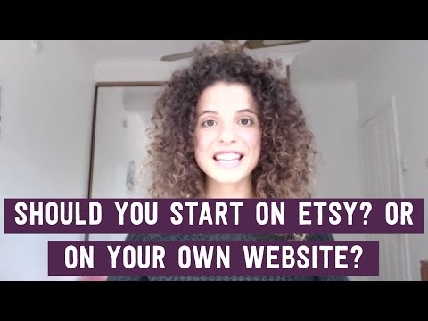 Is Etsy the best way to start selling your handmade products?
