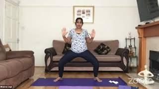 10-02-2021 - Hatha Yoga With Bhavnaben Jogi