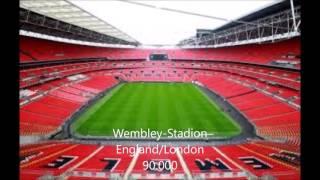 Top 5 / Die größten Fußballstadien Europas