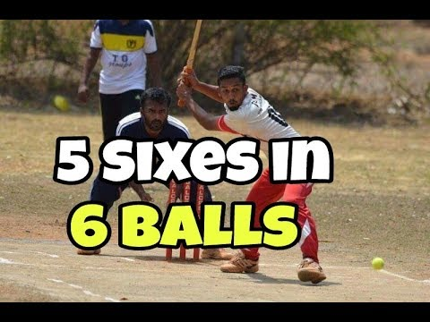 5 sixes in 6 balls | Mangalore underarm Cricket | By Asif Addoor |