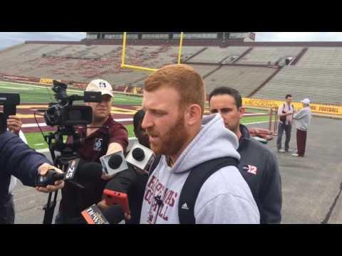 Central Michigan QB Cooper Rush talks about Jesse Kroll, rivalry