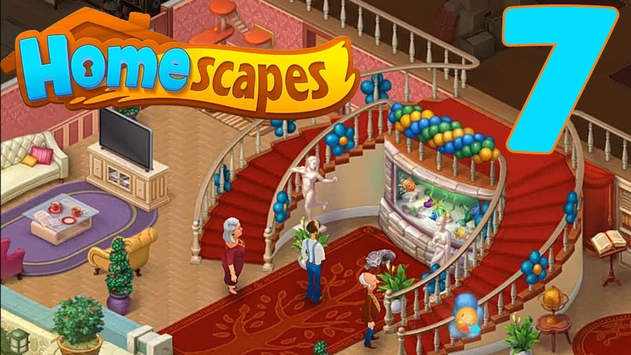 HOMESCAPES STORY WALKTHROUGH